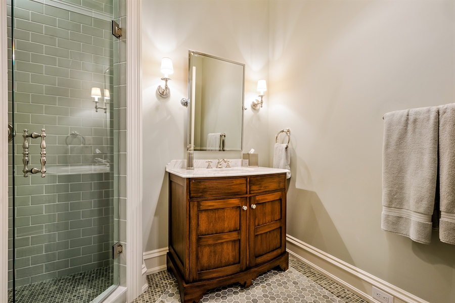 Real Estate Photography - 5750 Dunham Path, Stevensville, MI, 49127 - Bathroom 4