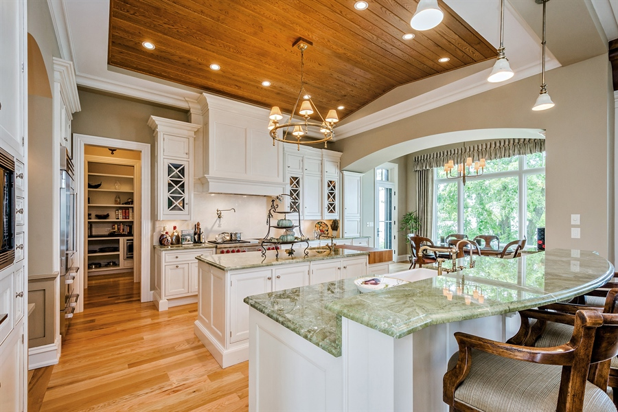 Real Estate Photography - 5750 Dunham Path, Stevensville, MI, 49127 - Kitchen Island