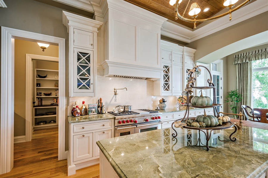 Real Estate Photography - 5750 Dunham Path, Stevensville, MI, 49127 - Kitchen and Butler Pantry