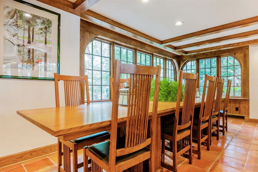 Real Estate Photography - 13274 Ravine Road, Harbert, MI, 49115 - Dining Room