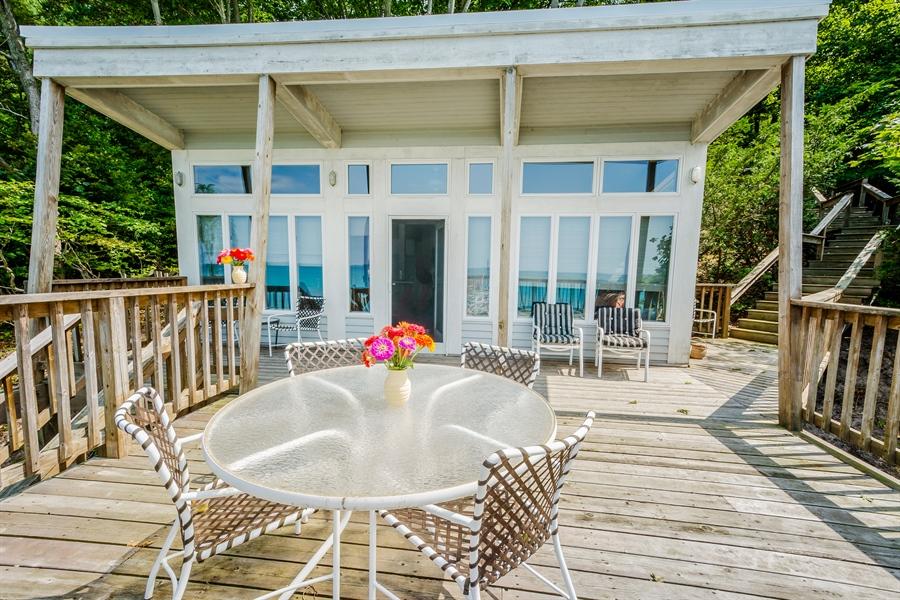 Real Estate Photography - 13274 Ravine Road, Harbert, MI, 49115 - Beach House