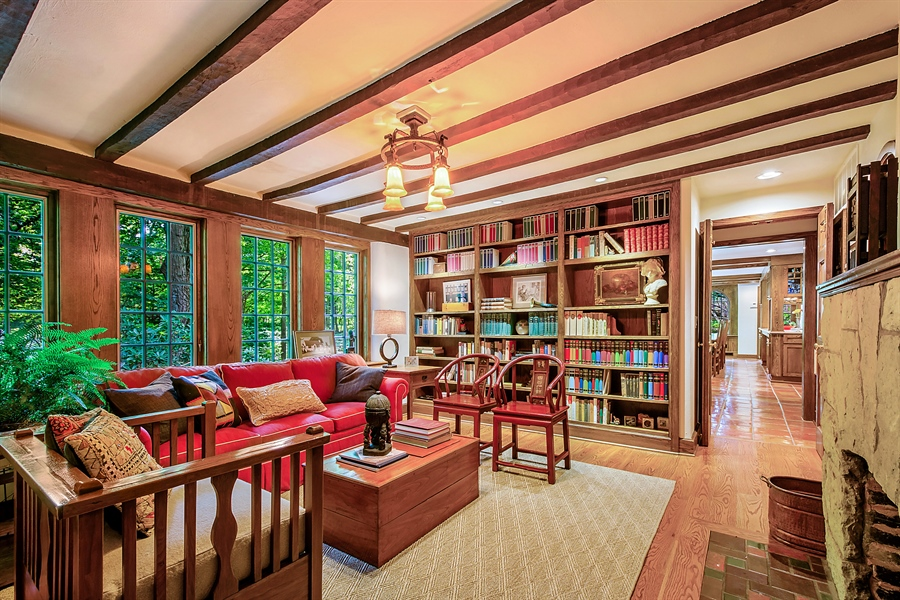 Real Estate Photography - 13274 Ravine Road, Harbert, MI, 49115 - Library