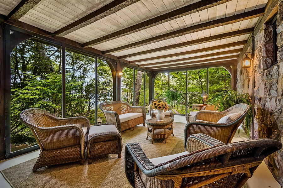 Real Estate Photography - 13274 Ravine Road, Harbert, MI, 49115 - Porch