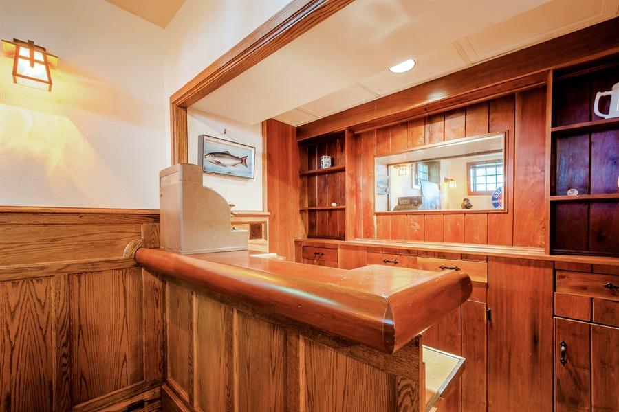 Real Estate Photography - 13274 Ravine Road, Harbert, MI, 49115 - Bar