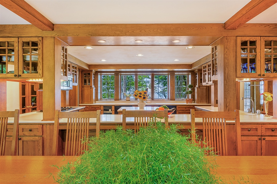 Real Estate Photography - 13274 Ravine Road, Harbert, MI, 49115 - Kitchen / Dining Room