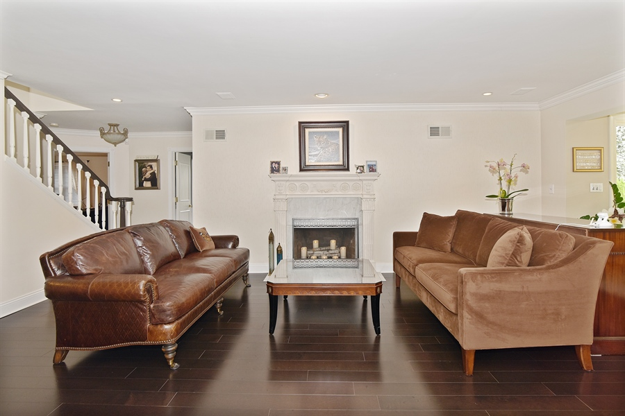 Real Estate Photography - 4508 W. Bryn Mawr, Chicago, IL, 60646 - Living Room