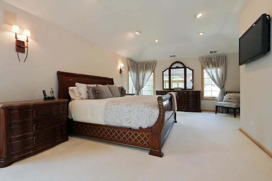 Real Estate Photography - 4508 W. Bryn Mawr, Chicago, IL, 60646 - Master Bedroom