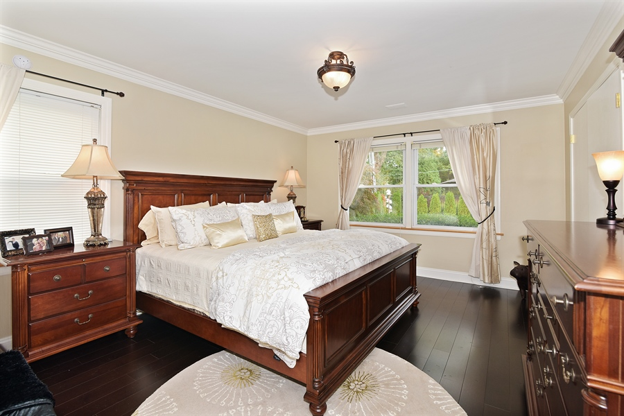 Real Estate Photography - 4508 W. Bryn Mawr, Chicago, IL, 60646 - Bedroom