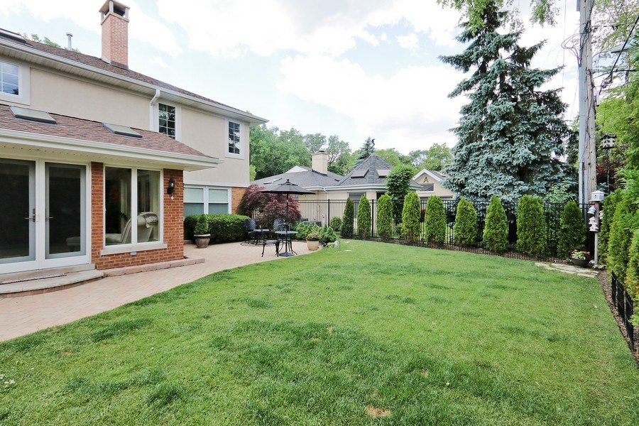 Real Estate Photography - 4508 W. Bryn Mawr, Chicago, IL, 60646 - Back Yard