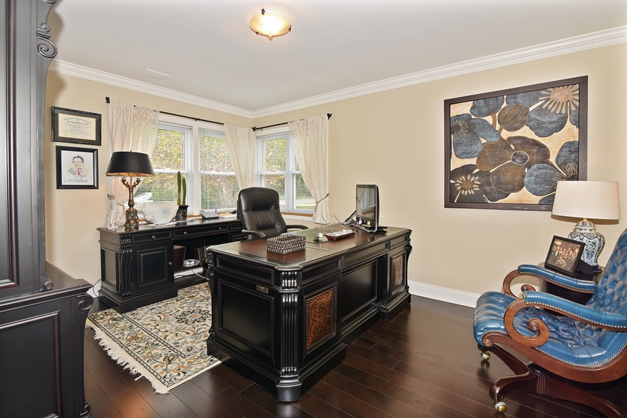 Real Estate Photography - 4508 W. Bryn Mawr, Chicago, IL, 60646 - Office