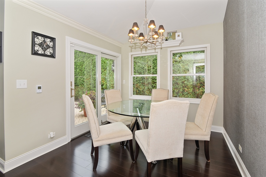 Real Estate Photography - 4508 W. Bryn Mawr, Chicago, IL, 60646 - Breakfast Nook