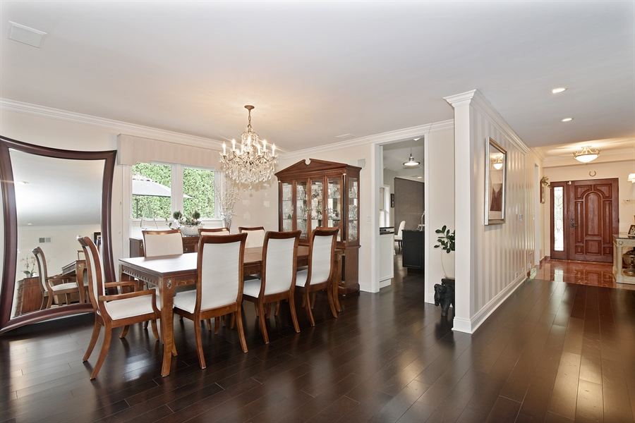 Real Estate Photography - 4508 W. Bryn Mawr, Chicago, IL, 60646 - Kitchen / Dining Room