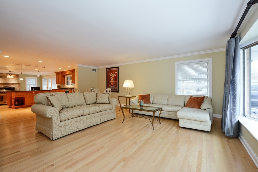 Real Estate Photography - 434 Otis Rd, Barrington, IL, 60010 - Living Room - 2nd View