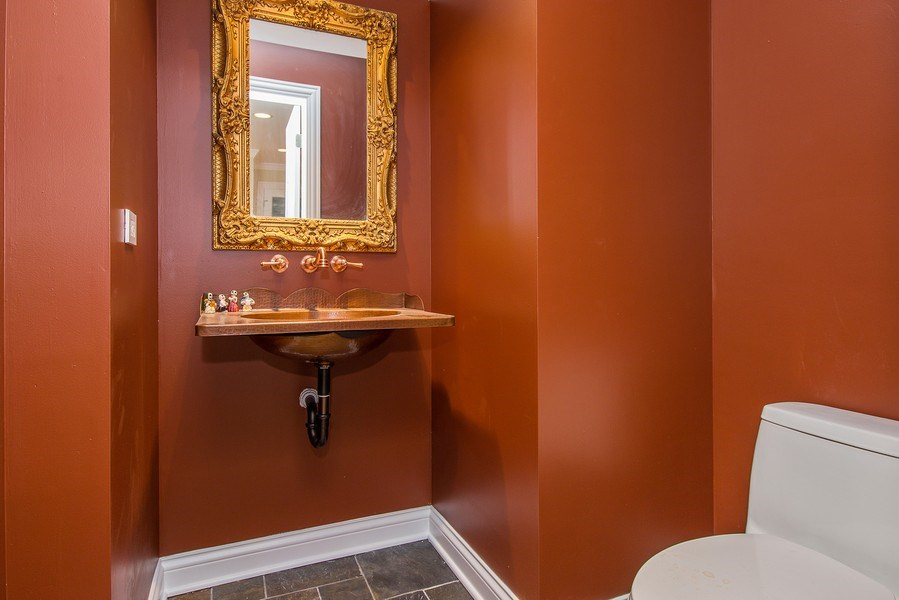 Real Estate Photography - 434 Otis Rd, Barrington, IL, 60010 - Powder Room