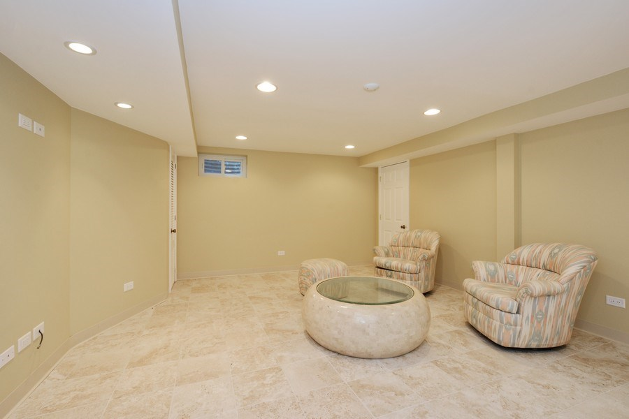 Real Estate Photography - 434 Otis Rd, Barrington, IL, 60010 - Media Room/Office
