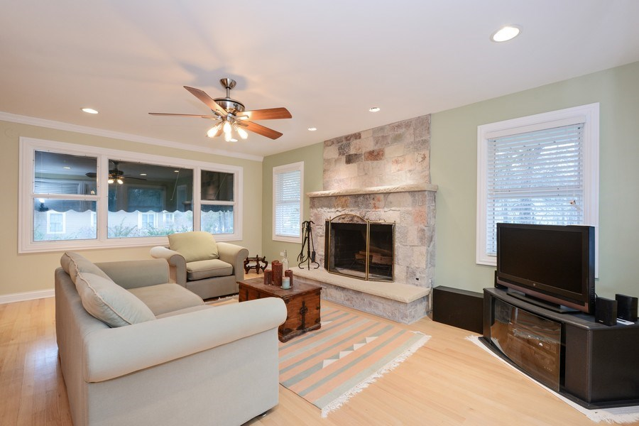 Real Estate Photography - 434 Otis Rd, Barrington, IL, 60010 - Family Room
