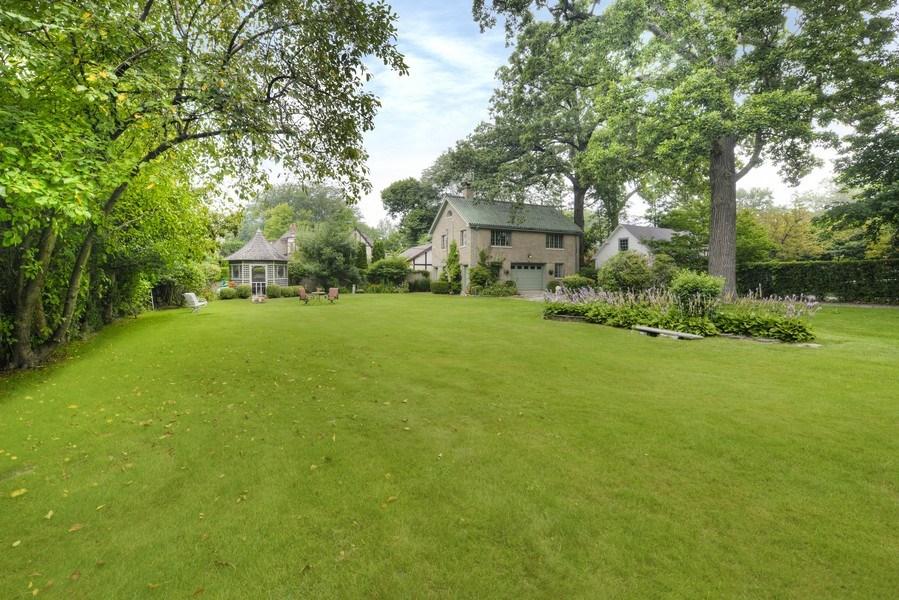 Real Estate Photography - 1020 Chestnut Ave, Wilmette, IL, 60091 - Backyard