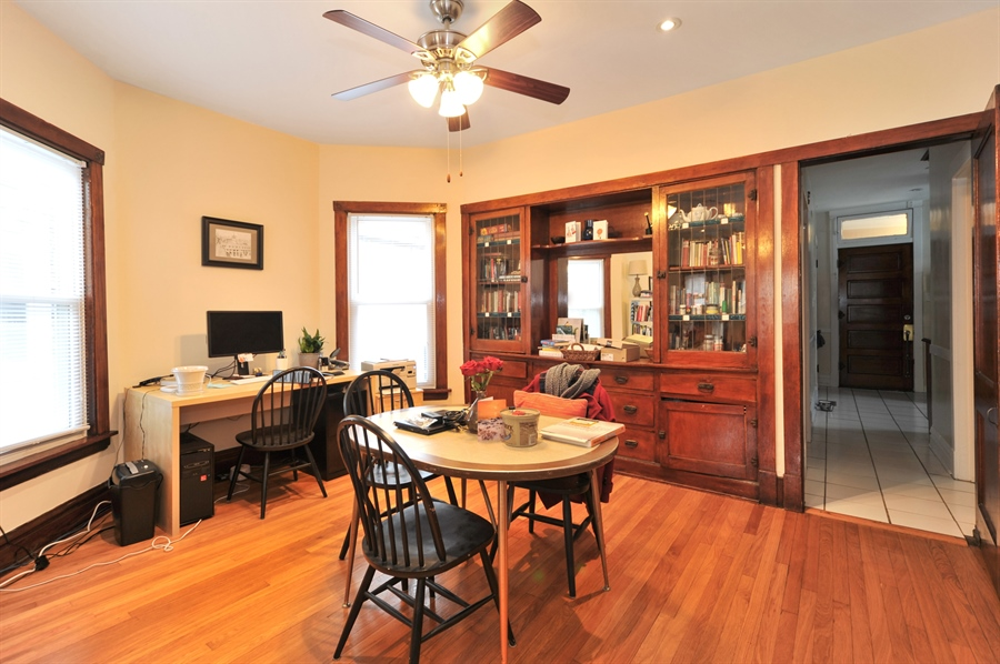 Real Estate Photography - 4438 N Hamlin, Chicago, IL, 60625 - Dining Room