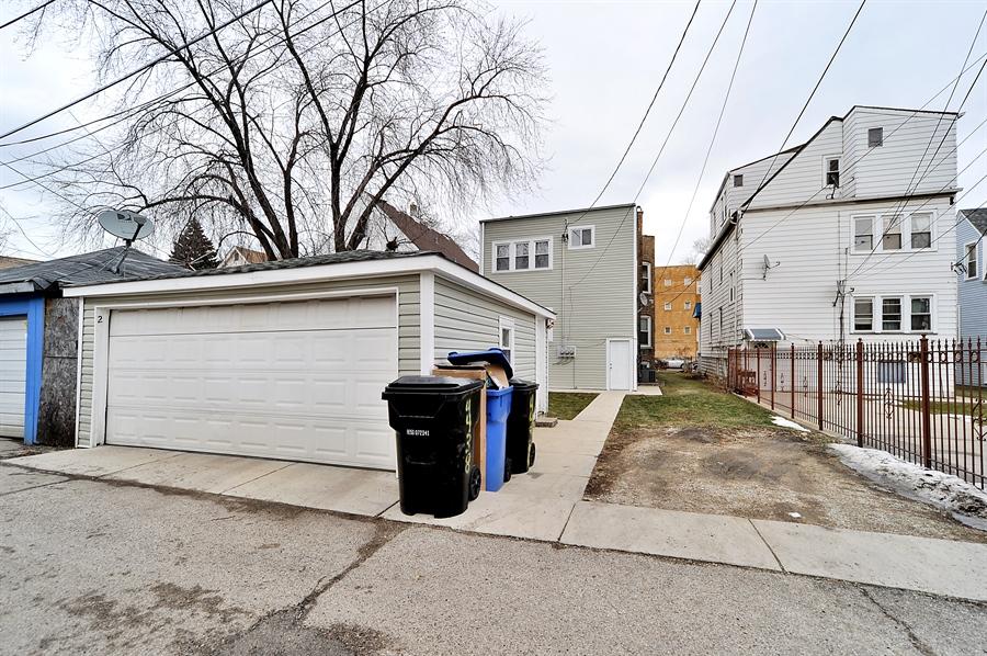 Real Estate Photography - 4438 N Hamlin, Chicago, IL, 60625 - Garage