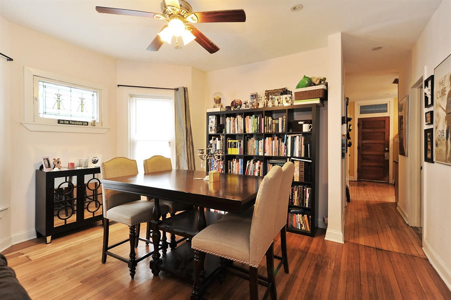 Real Estate Photography - 4438 N Hamlin, Chicago, IL, 60625 - Dining Area
