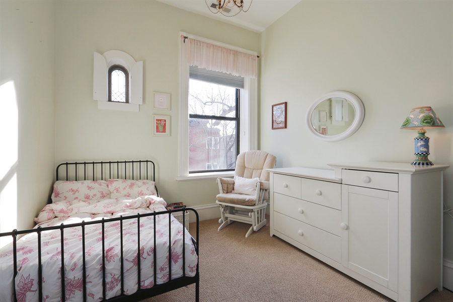 Real Estate Photography - 1036 N Hoyne Ave, Chicago, IL, 60622 - 3rd Bedroom