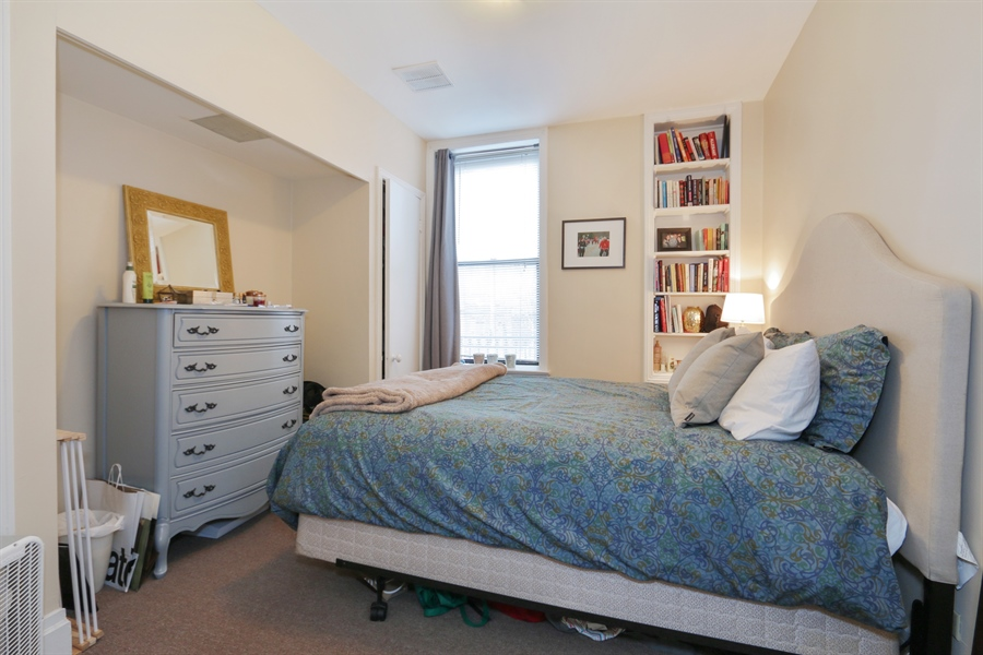 Real Estate Photography - 1036 N Hoyne Ave, Chicago, IL, 60622 - #2 Rental Bedroom (1 of 3)