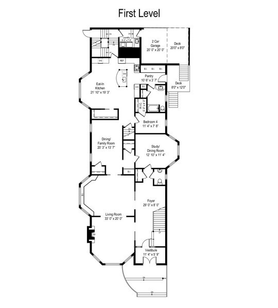 Real Estate Photography - 1036 N Hoyne Ave, Chicago, IL, 60622 - Floor Plan