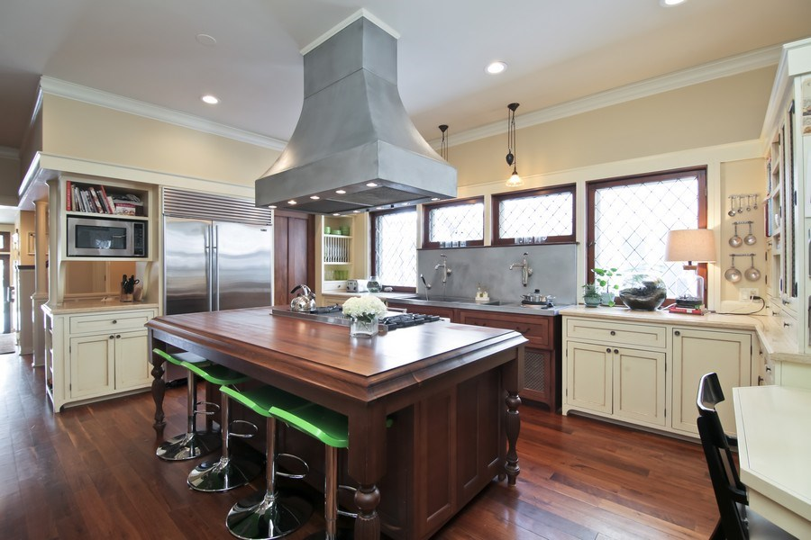 Real Estate Photography - 1236 Hinman Ave, Evanston, IL, 60201 - Kitchen