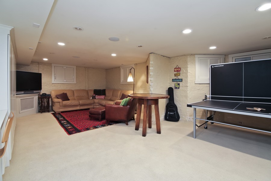 Real Estate Photography - 1236 Hinman Ave, Evanston, IL, 60201 - Basement Play Room