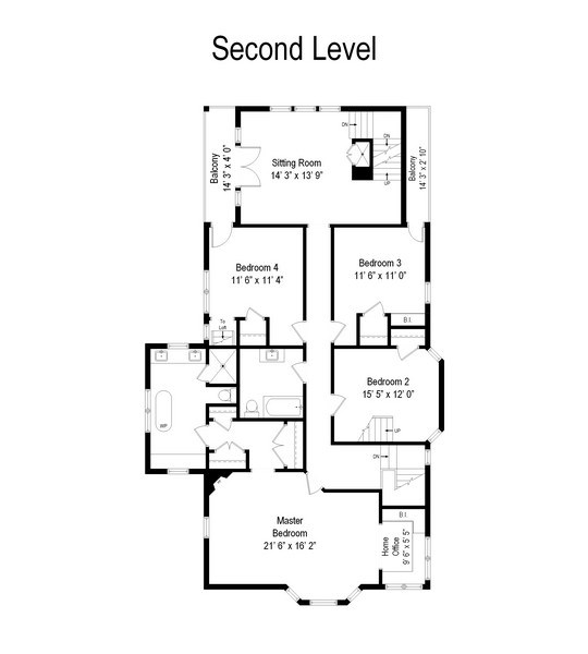 Real Estate Photography - 1236 Hinman Ave, Evanston, IL, 60201 - Floor Plan