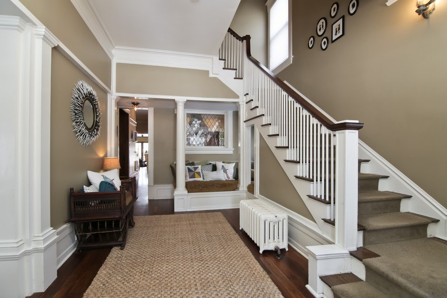 Real Estate Photography - 1236 Hinman Ave, Evanston, IL, 60201 - Entryway
