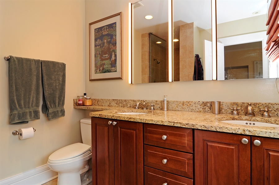 Real Estate Photography - 1828 Asbury Ave, Evanston, IL, 60201 - Master Bathroom