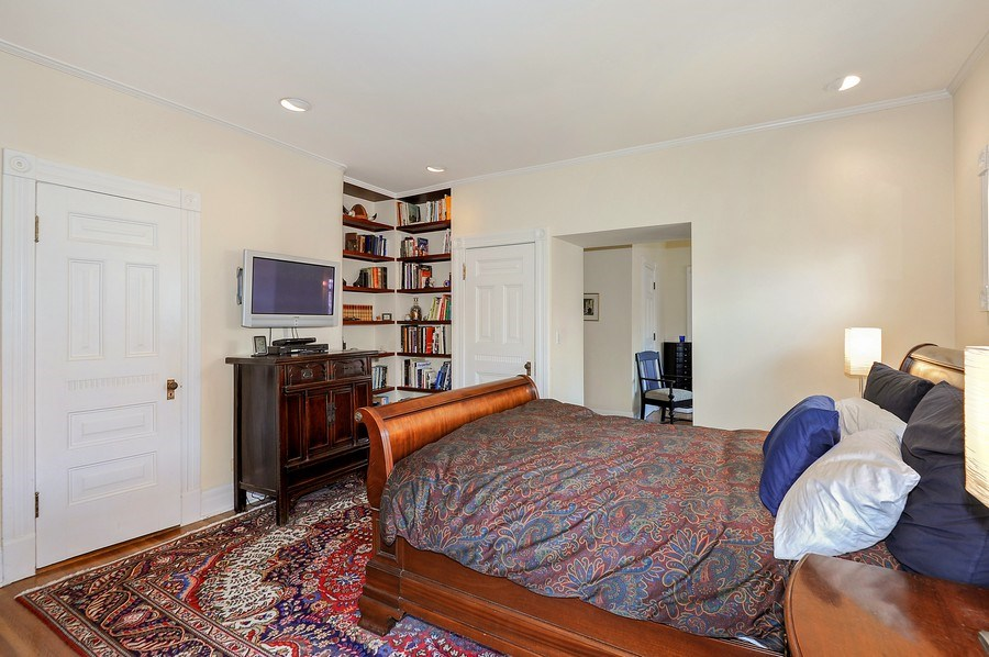 Real Estate Photography - 1828 Asbury Ave, Evanston, IL, 60201 - Master Bedroom