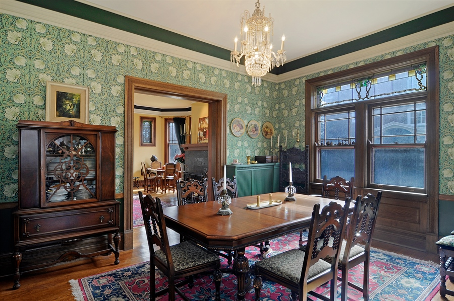Real Estate Photography - 1828 Asbury Ave, Evanston, IL, 60201 - Dining Room