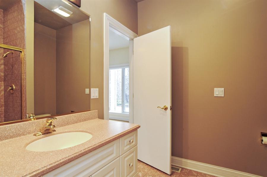Real Estate Photography - 1071 E Bonner, Wauconda, IL, 60084 - 3rd Bathroom