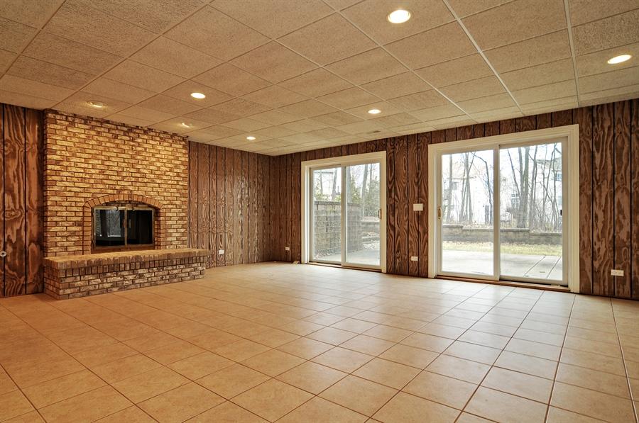 Real Estate Photography - 1071 E Bonner, Wauconda, IL, 60084 - Walk Out Basement