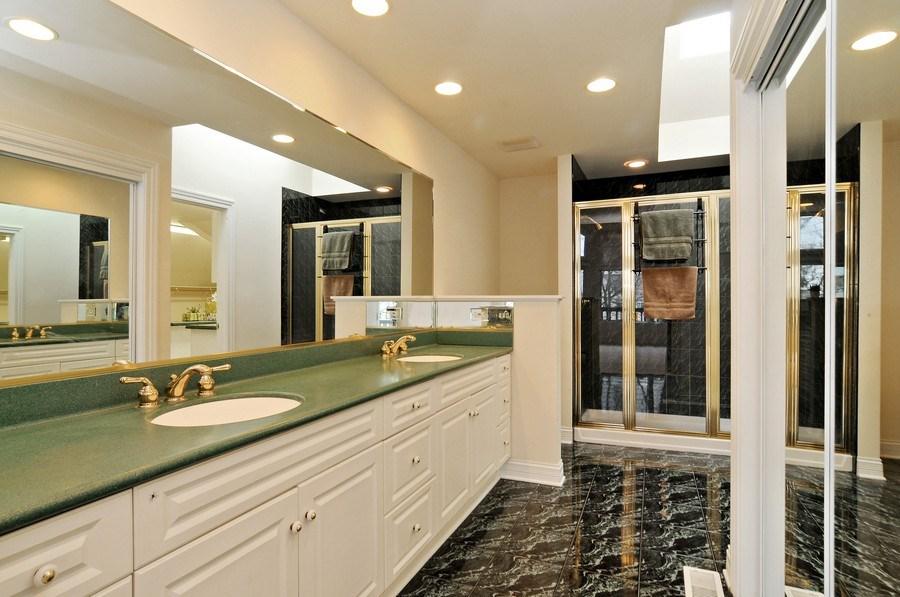 Real Estate Photography - 1071 E Bonner, Wauconda, IL, 60084 - Master Bathroom