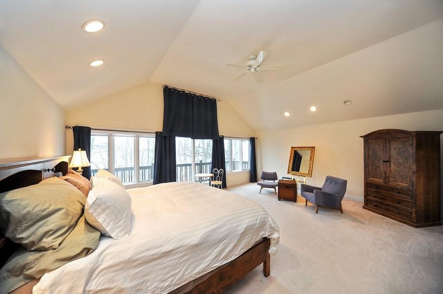 Real Estate Photography - 1071 E Bonner, Wauconda, IL, 60084 - Master Bedroom