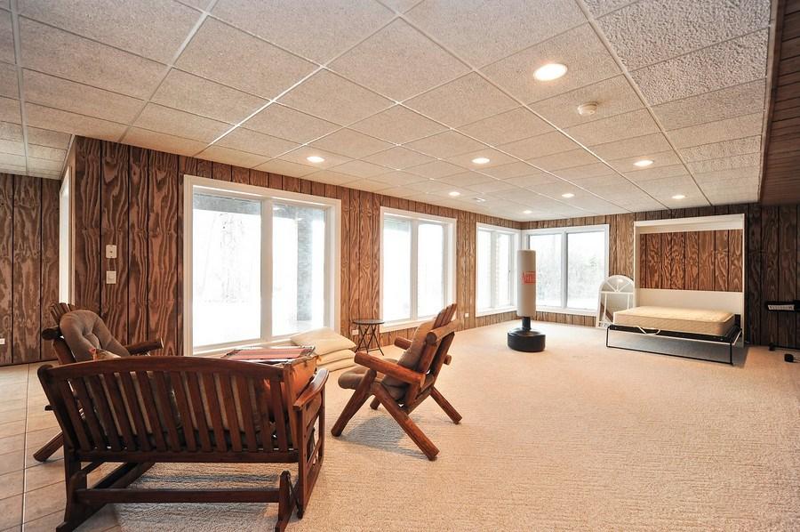 Real Estate Photography - 1071 E Bonner, Wauconda, IL, 60084 - Walkout Basement/4th Bedroom