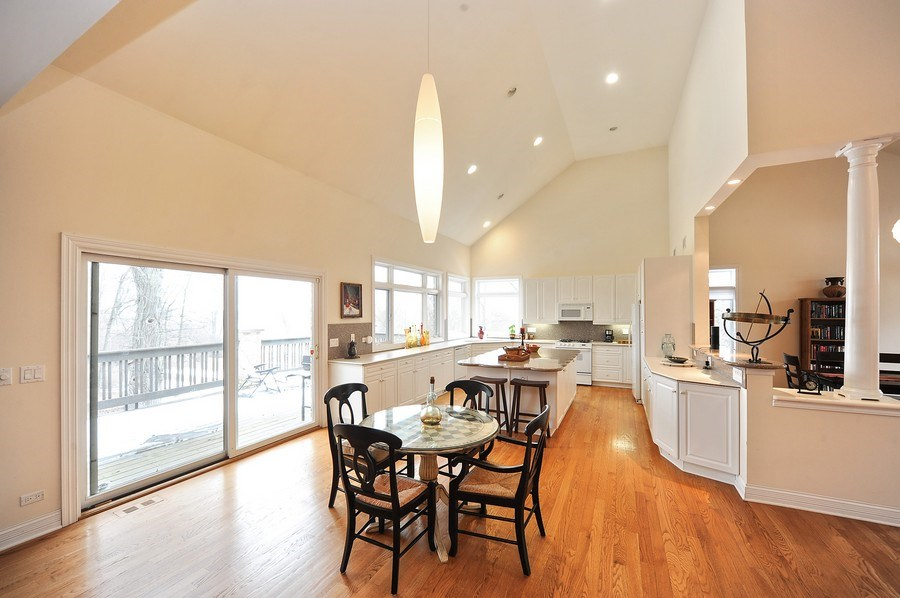 Real Estate Photography - 1071 E Bonner, Wauconda, IL, 60084 - Kitchen/Eating Area