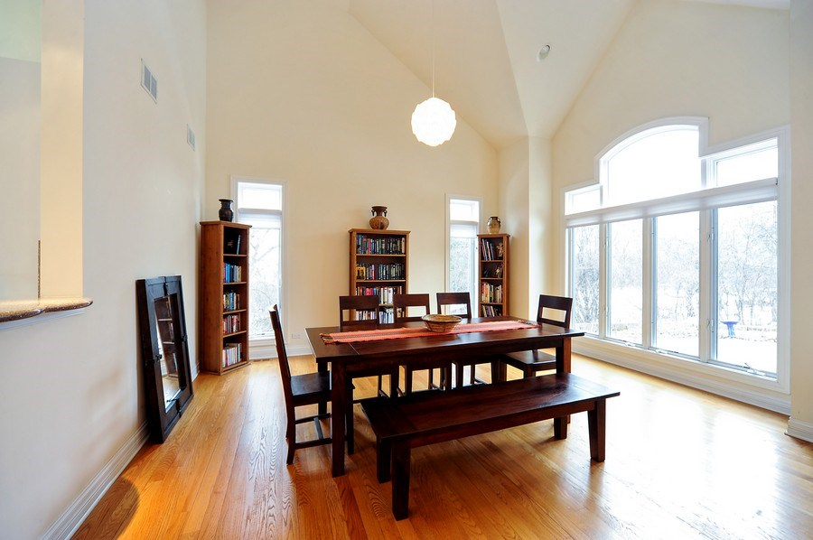 Real Estate Photography - 1071 E Bonner, Wauconda, IL, 60084 - Dining Room
