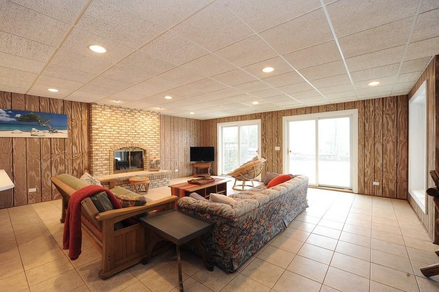 Real Estate Photography - 1071 E Bonner, Wauconda, IL, 60084 - Walkout Basement