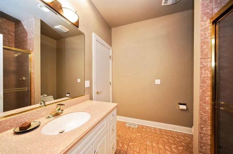 Real Estate Photography - 1071 E Bonner, Wauconda, IL, 60084 - 2nd Bathroom