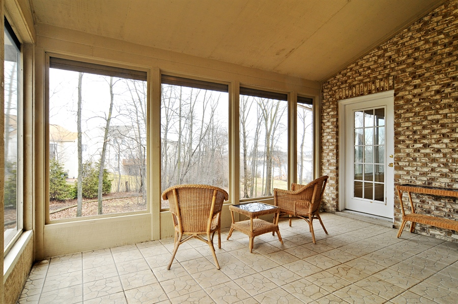 Real Estate Photography - 1071 E Bonner, Wauconda, IL, 60084 - Sun Room