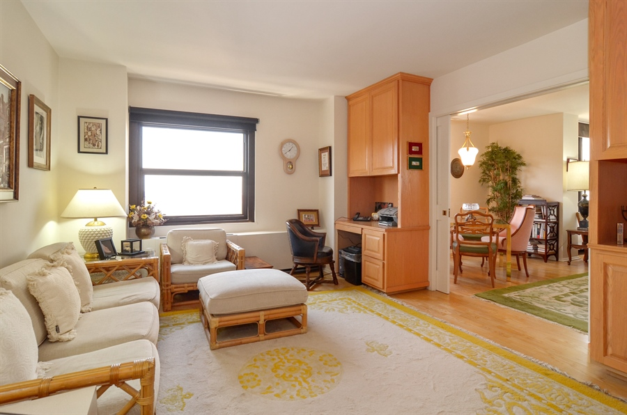 Real Estate Photography - 3150 North Lake Shore Drive, 17F, Chicago, IL, 60657 - 2nd Bedroom/Den
