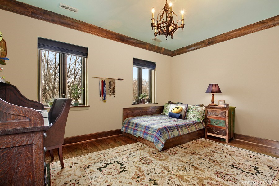 Real Estate Photography - 6087 N Kirkwood, Chicago, IL, 60646 - 4th Bedroom