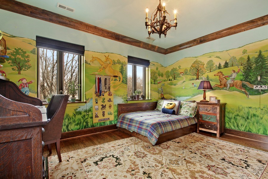 Real Estate Photography - 6087 N Kirkwood, Chicago, IL, 60646 - 2nd Bedroom