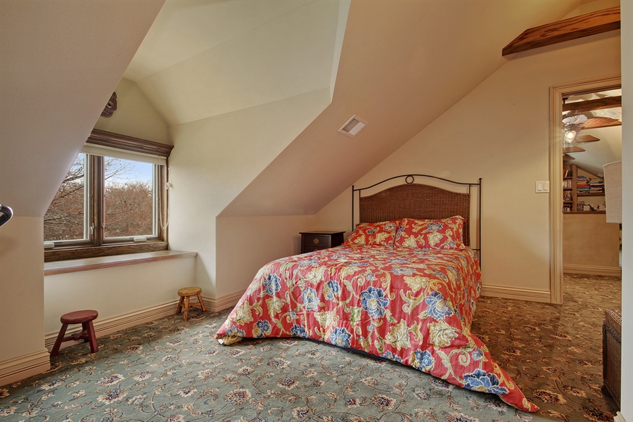 Real Estate Photography - 6087 N Kirkwood, Chicago, IL, 60646 - 5th Bedroom in Loft