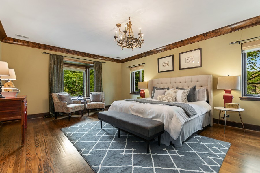 Real Estate Photography - 6087 N Kirkwood, Chicago, IL, 60646 - Master Bedroom