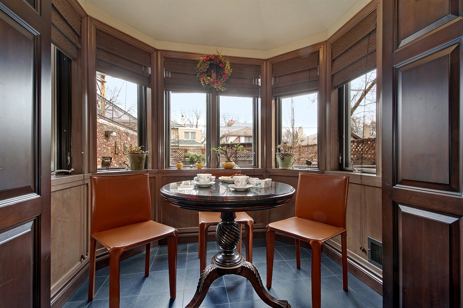 Real Estate Photography - 6087 N Kirkwood, Chicago, IL, 60646 - Breakfast Area
